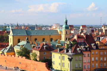 Halvdagstur med sightseeing i Warszawa