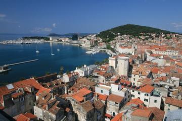 Split: Diokletianpalast, Bustour und geführter Spaziergang