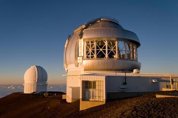 ヒロ発マウナケア山頂での星空観測小グループツア…