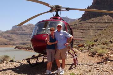 4-in-1 helikoptertour naar de Grand Canyon