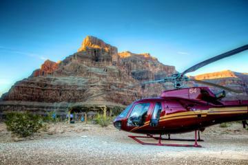 Excursões de helicóptero a partir da margem oeste do Grand Canyon