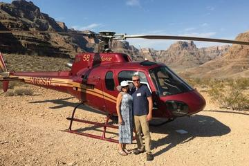 Las Vegas to Grand Canyon Helicopter Tour, Champagne Picnic