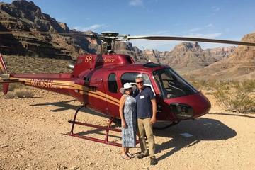 Grand Canyon: sortie en hélicoptère typiquement américaine