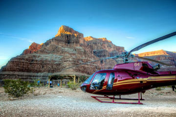 Helikoptertur från Grand Canyon West Rim
