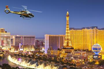 Lyxig helikoptertur till Grand Canyon West Rim i solnedgången