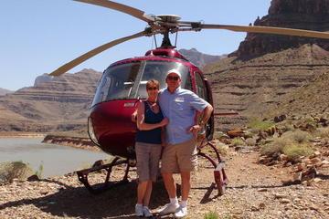 Passeio espetacular de helicóptero no Grand Canyon, 4 em 1