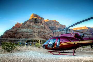 Recorrido en helicóptero desde el West Rim del Gran Cañón