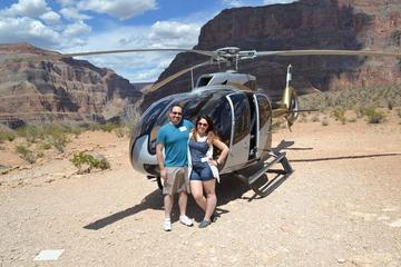 Tour por el Gran Cañón en helicóptero al estilo americano