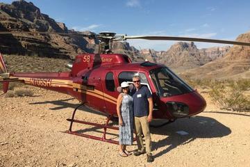 Tour por el Gran Cañón en helicóptero...