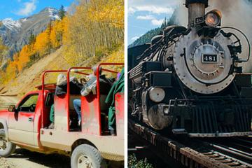 Book Durango and Silverton Narrow Gauge Railroad and Skyway Rails and Trails Day Tour on Viator