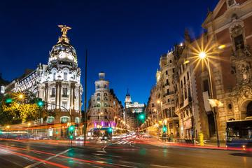 Madrid Guided Tour at Night with Optional Cardamomo Flamenco Show