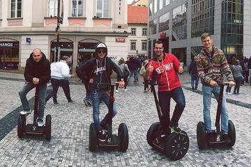 Small group: 3-hour Prague Grand City Tour on Segway