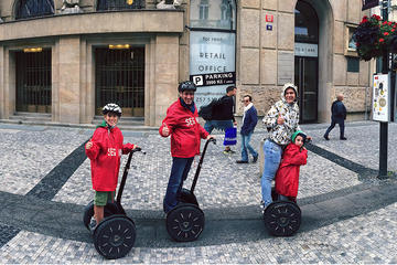 Tour del centro storico di Praga di 30 minuti in Segway