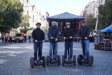 Tour di Praga in Segway: percorso nel parco Letna con video GoPro