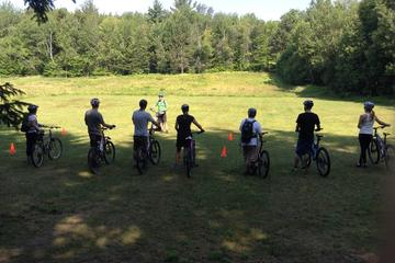 Private Mountain Bike Lesson in Stowe Vermont