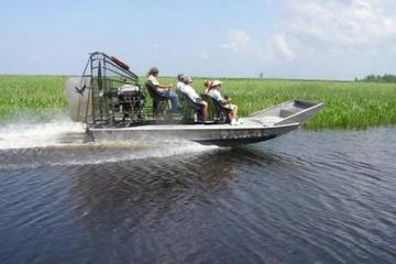 New Orleans Shore Excursion: Post-Cruise Half-Day Airboat Combo Tour