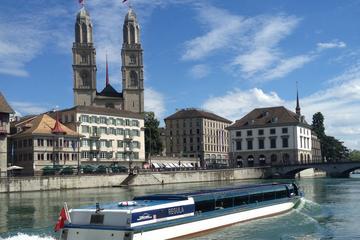 Passeio a pé pela cidade de Zurique...