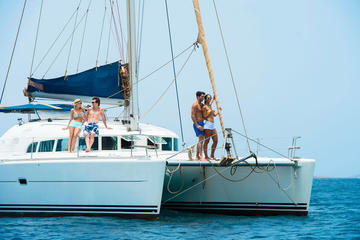 Full-Day Catamaran Rental in Santa
