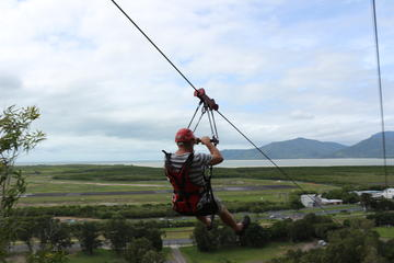 Cairns Adventure Park: Flying Leap Mega Zipline