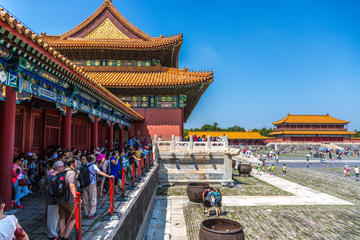 Beijing Layover Private Day Tour to City Top Attractions with Peking Duck Lunch