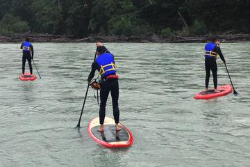 Squamish River Stand Up Paddleboarding