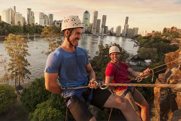Abseiling the Kangaroo Point Cliffs...