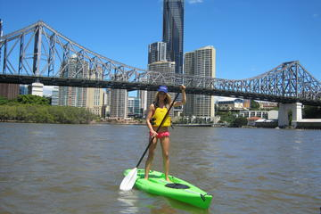 Brisbane River Stand-Up Paddleboarding