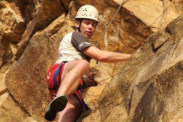 Rock Climbing at the Kangaroo Point Cliffs in Brisbane