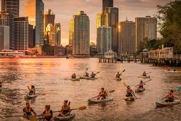 Sunday Sunset Kayak Tour with Dips and Drinks