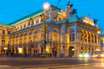 Noche de Mozart en Viena: Cena gourmet y concierto en el Teatro de la...