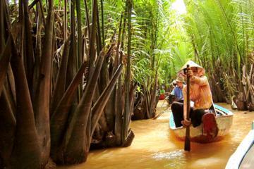 昼食とヴィン チャン パゴダ(Vinh Trang Pagoda)の訪問付き…