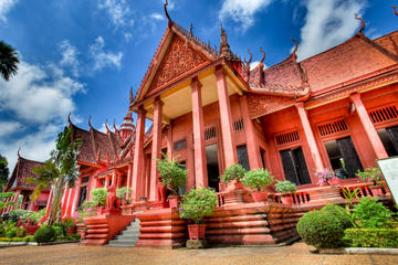 Private Half Day Phnom Penh City Tour with Lunch