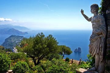 Excursión por la costa: Escapada privada de un día a Pompeya y Capri...