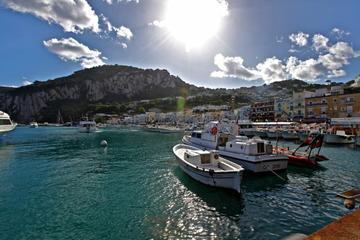 Ganztägige private Tour: Capri und...