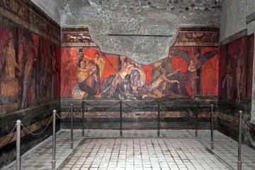Tour turístico Pompeya y el Monte Vesubio en 4x4