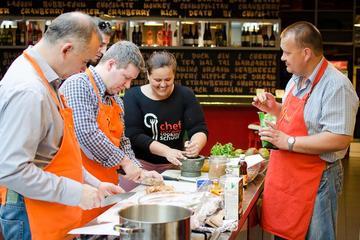 Aula de culinária e excursão pelo mercado em Budapeste