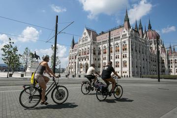Excursão privada: Excursão de bicicleta pela cidade de Budapeste