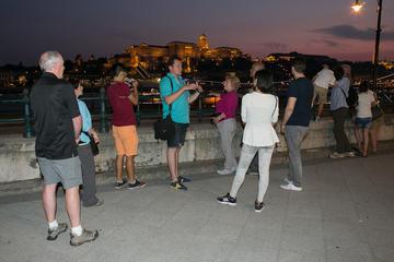 Nachtelijke wandeling en boottocht door Boedapest