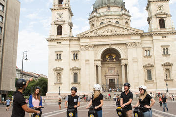 Tour panoramico di Budapest in Segway