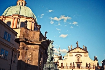 Visite à pied de Prague en petit groupe: vieille ville, place...