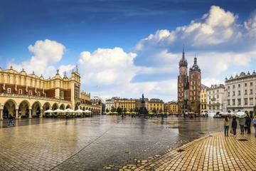 Visite à pied en petit groupe à Cracovie: la Vieille ville...
