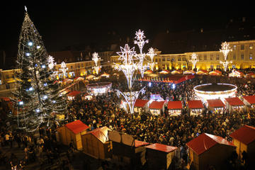 Full-Day Brasov Christmas Market Tour from Bucharest