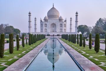 Evite las colas Taj Mahal y el fuerte...