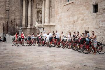Recorrido en bicicleta por la mañana en Valencia