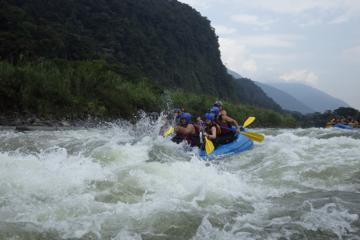 White Water River Rafting in Baños Private Tour