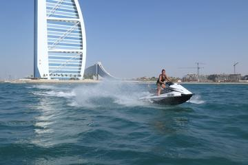 Location de jet ski au Burj Al Arab...