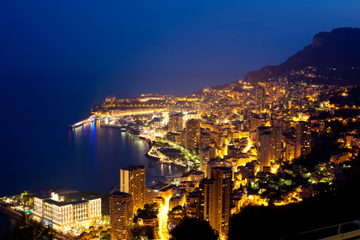 Abendliche Tour durch Monaco in ...