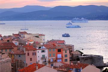 Excursión privada: Excursión de un día a St-Tropez y el puerto de...