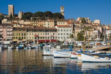 Gita privata di mezza giornata: Cannes e Antibes da Nizza in minivan