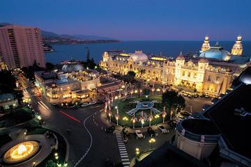 Monaco bei Nacht-Tour in kleiner Gruppe von Nizza aus